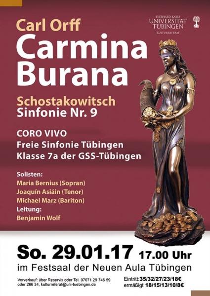 Carmina Burana WS16/17